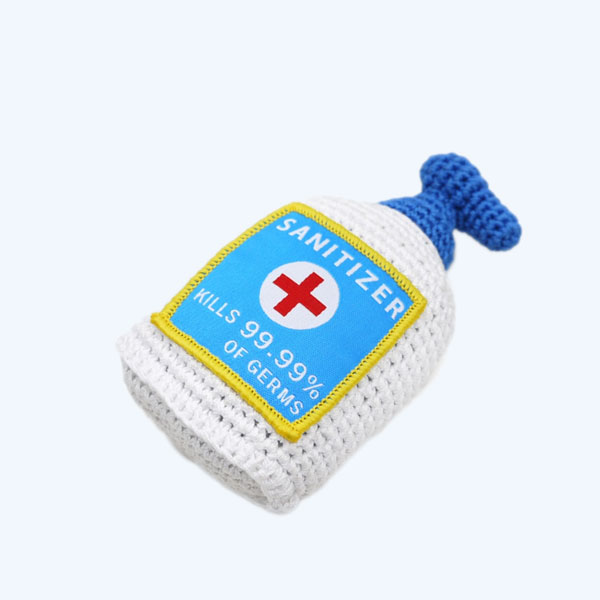Sanitizer Crochet Toy